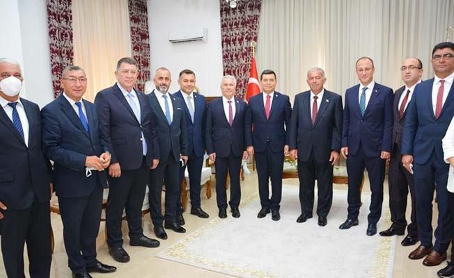 Başkan Örki Kıbrıs'ta