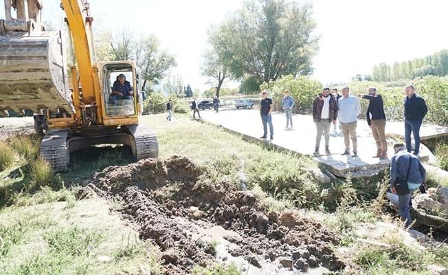 Çivril'de Millet Bahçesi projesinde ilk kazma vuruldu