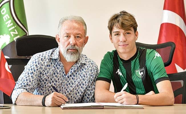 Denizlispor genç yetenek ile profesyonel sözleşme imzaladı