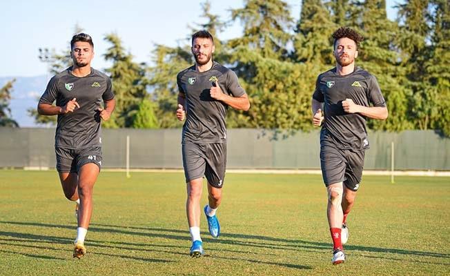 Denizlispor, Samsunspor maçı hazırlıklarını sürdürüyor