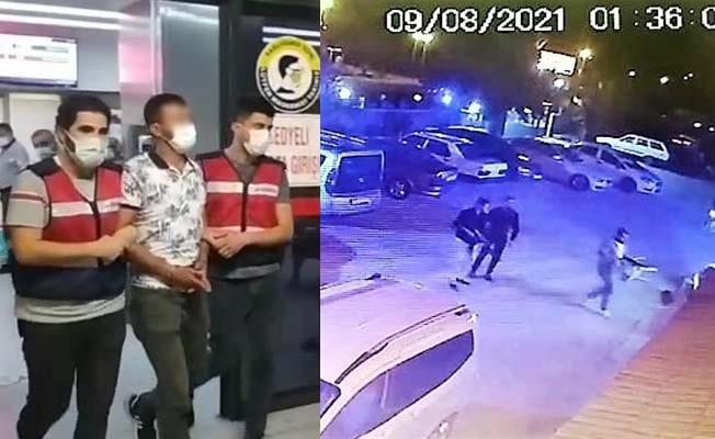 Gazinoyu tarayan firari şüphelilerden birisi yakalandı