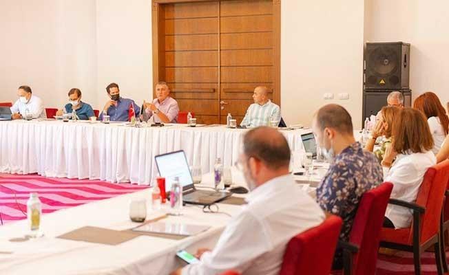 GESİFED ve BESİAD, TÜRKONFED'in strateji toplantısına ev sahipliği yaptı