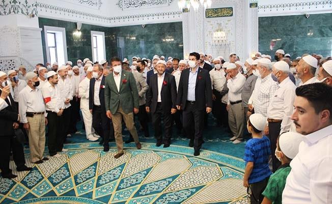 Hacı Ahmet Pakel Cami'nin açılışı yapıldı