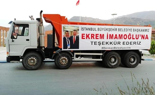 İBB Başkanı İmamoğlu'ndan Babadağ'a destek