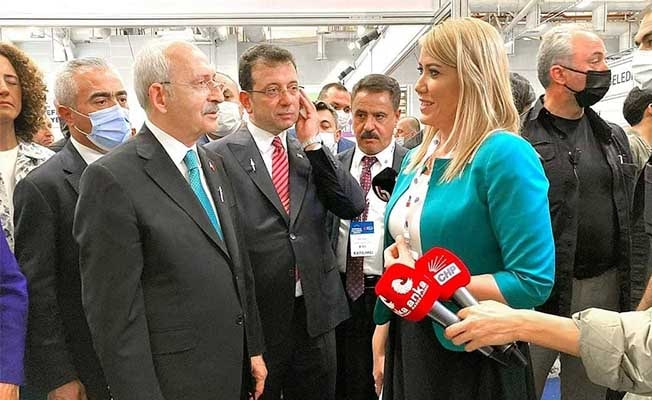 Kılıçdaroğlu Merkezefendi Belediyesi'nin standında