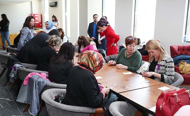 Merkezefendi Belediye Kadın Çocuk Yaşam Merkezlerinde el sanatları kursları başlıyor