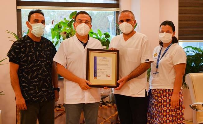 PAÜ Hastaneleri bilgi güvenliği ve kalite yönetim sistemi belgelerini aldı