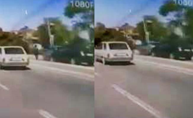 Tali yolda otomobilin çarptığı kadın yaşamını yitirdi