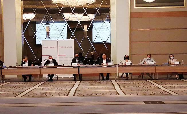 TÜRKONFED yönetimi İstanbul'da toplandı