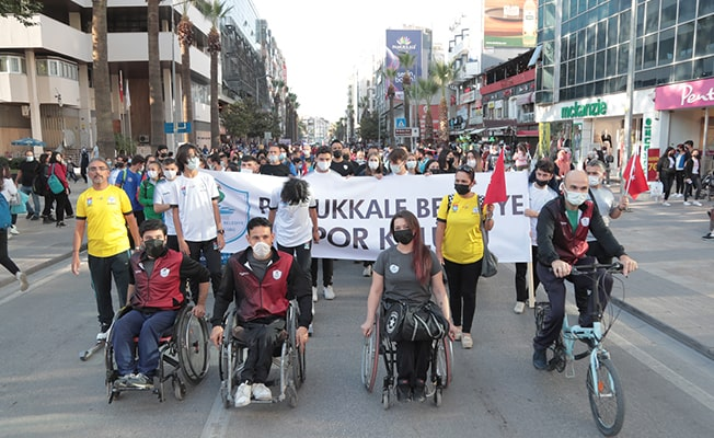 Amatör Spor Haftasına Pamukkale Belediyesi damgası