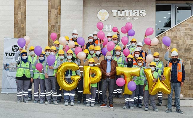 Aydem Enerji grup şirketi Tümaş Mermer, Avrupa'nın en iyi işverenleri arasına girdi