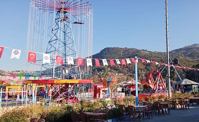 Babadağ'da festival zamanı