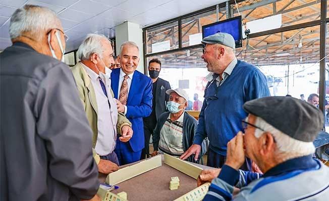Başkan Zolan ilçe ziyaretlerini sürdürüyor