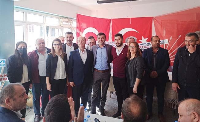 CHP Buldan'da yeni yönetimini belirledi