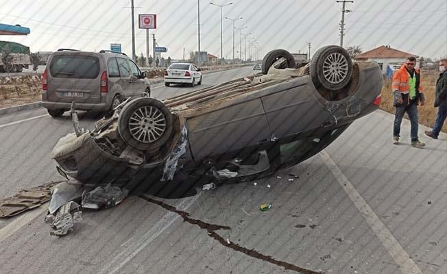 Denizli'de 1 haftada 144 trafik kazası meydana geldi
