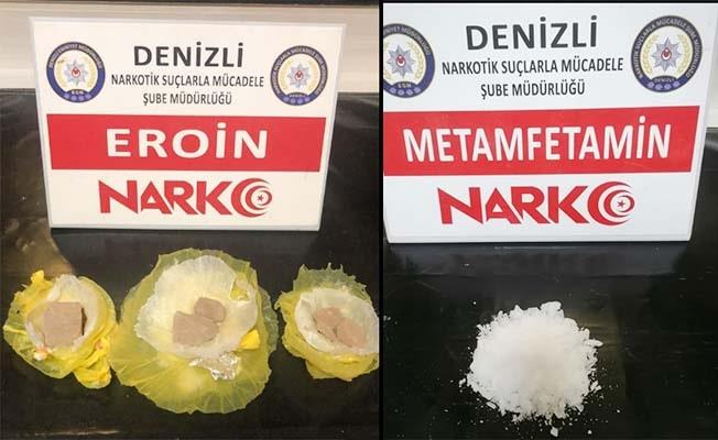 Denizli'de 25 zehir taciri gözaltına alındı