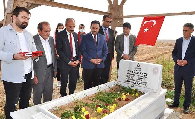 Denizlili şehidin sınırda bulunan mezarı 59 yıl sonra onarıldı