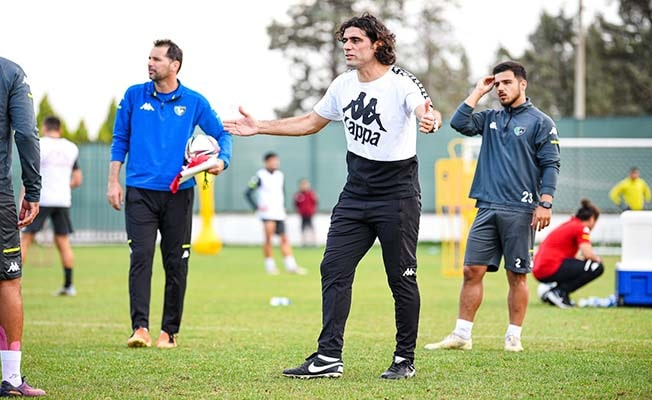 Denizlispor, Balıkesirspor maçı hazırlıklarını sürdürüyor