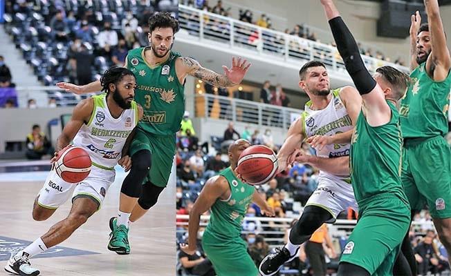 Merkezefendi Belediyesi Denizli Basket 3. mağlubiyetini aldı