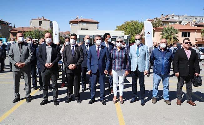 Pamukkale Belediyesinden okullara malzeme desteği