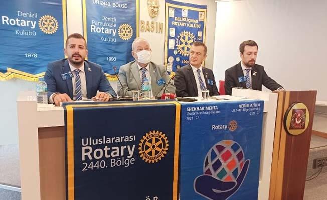 Rotaryenler,hizmetleriyle hayatları değiştirecekler