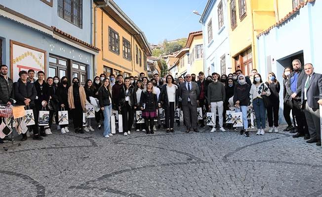 SDÜ öğrencilerinden Buldan'a teknik gezi