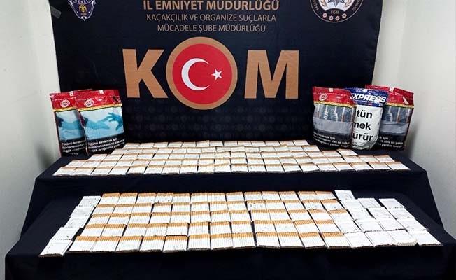Tütün kaçakçılarına yönelik 3 ayrı operasyon: 3 gözaltı