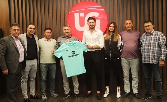 Üstek'ten Horozkentspor'a büyük destek