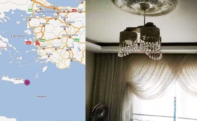 Yunanistan'daki deprem Denizli'de de hissedildi