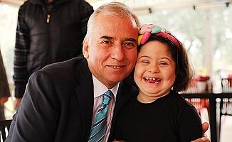 Başkan Zolan, özel çocuklarla bir araya geldi