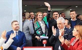CHP Merkezefendi Başkan Adayı Doğan seçim bürosunu açtı