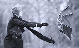 Denizli için kuvvetli rüzgar ve fırtına uyarısı