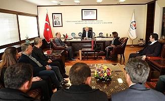 Nikferliler'den Başkan Zolan'a ziyaret