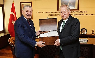 Öz Orman-İş Sendikası'ndan Başkan Osman Zolan'a ziyaret