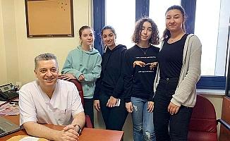 TED Öğrencileri Hekimlik Mesleğini Gözlemlediler