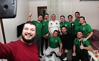 Zolan'dan gençlere yeşil-siyah sürpriz