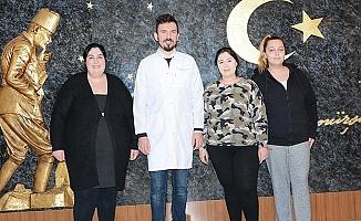 Almanya'dan Denizli'ye mide küçültme ameliyatı için geldiler