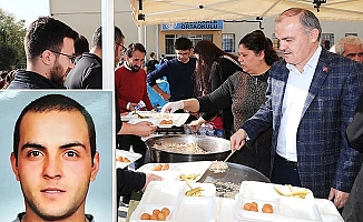 Başkan Gürlesin Şehit Uygun'u unutmadı