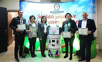 Büyükşehir'in 2019 hedefi 10 ton atık pil