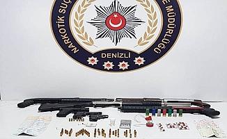 Denizli'de zehir tacirlerine şafak operasyonu: 16 tutuklama