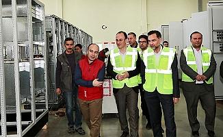 Örki'den Akgün'e ziyaret