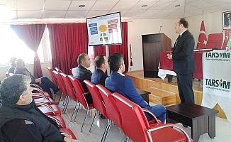 TARSİM'in üreticileri bilgilendirme toplantıları tamamlandı