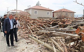 Bahtiyar deprem bölgesindeydi
