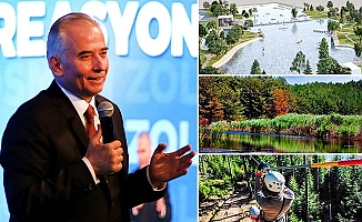 Başkan Osman Zolan'dan doğa tutkunlarına 3 önemli proje