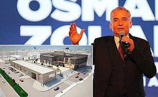 """Başkan Zolan'dan """"Sivil Toplum Yerleşkesi"""" projesi"""