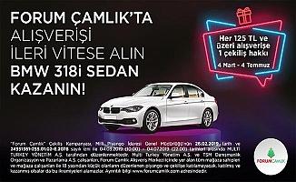 Forum Çamlık'ın BMW 318i Sedan kampanyası başlıyor