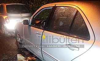 Otomobilinde silahlı saldırıya uğradı