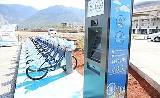 Pamukkale'de 'Akıllı Bisiklet Uygulaması' başladı