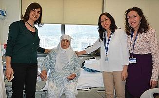 PAÜ Hastanesi yaşlıları unutmadı