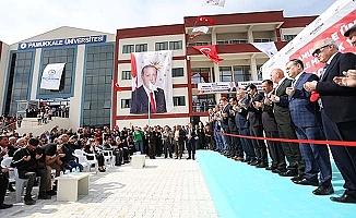 PAÜ Kale MYO'nun yeni binası eğitim öğretime açıldı